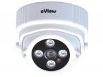 Camera IP Dome hồng ngoại không dây eView PL704N20-W
